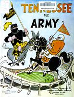1966 Football Program - UT vs Army (at Memphis)