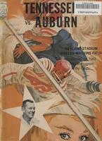 1963 Football Program - UT vs Auburn