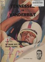 1961 Football Program - UT vs Vanderbilt