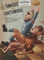 1961 Football Program - UT vs UT-Chattanooga