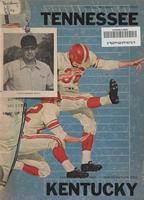 1960 Football Program - UT vs Kentucky