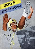 1960 Football Program - UT vs North Carolina