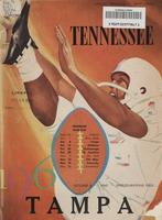1960 Football Program - UT vs Tampa