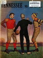1959 Football Program - UT vs LSU