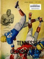 1959 Football Program - UT vs Georgia Tech