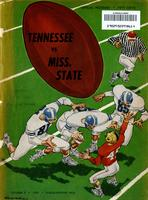 1959 Football Program - UT vs Mississippi State