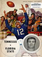 1958 Football Program - UT vs Florida State