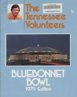 1979 Football Press Guide - UT vs Purdue (Bluebonnet Bowl)