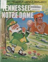 1979 Football Program - UT vs Notre Dame