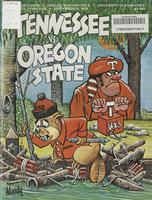 1978 Football Program - UT vs Oregon State