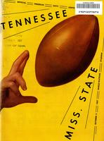 1957 Football Program - UT vs Mississippi State