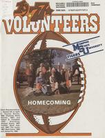 1977 Football Program - UT vs Memphis