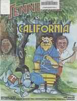 1977 Football Program - UT vs California