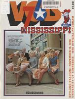 1976 Football Program - UT vs Mississippi