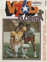 1976 Football Program - UT vs Florida