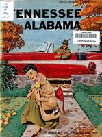 1956 Football Program - UT vs Alabama