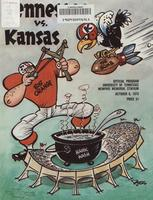 1973 Football Program - UT vs Kansas (at Memphis)