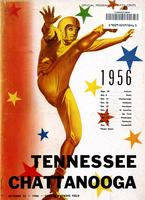 1956 Football Program - UT vs UT-Chattanooga