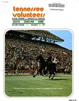 1971 Football Program - UT vs South Carolina