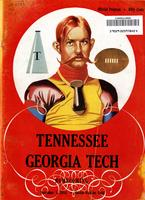 1955 Football Program - UT vs Georgia Tech