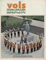 1970 Football Program - UT vs Florida