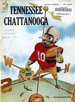 1955 Football Program - UT vs UT-Chattanooga