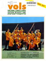 1970 Football Program - UT vs Southern Methodist