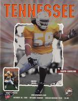 1999 Football Program - UT vs South Carolina