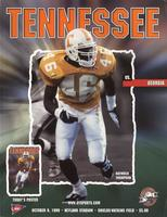 1999 Football Program - UT vs Georgia