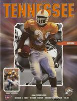 1999 Football Program - UT vs Auburn