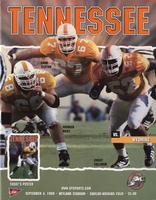 1999 Football Program - UT vs Wyoming