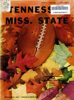 1955 Football Program - UT vs Mississippi State