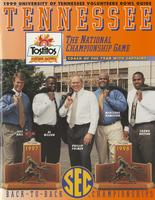 1999 Football Bowl Guide - UT vs Florida State (Fiesta Bowl)