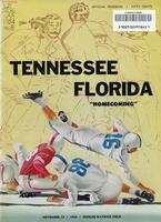 1954 Football Program - UT vs Florida