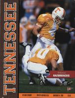 1998 Football Program - UT vs Arkansas
