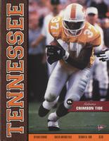 1998 Football Program - UT vs Alabama