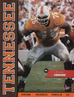 1998 Football Program - UT vs Houston