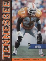 1998 Football Program - UT vs Florida