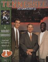 1997 Football Program - UT vs Vanderbilt