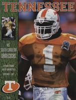 1997 Football Program - UT vs South Carolina