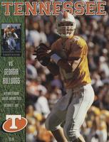1997 Football Program - UT vs Georgia