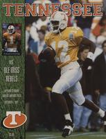 1997 Football Program - UT vs Mississippi