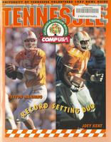 1996 Football Bowl Guide - UT vs Northwestern (Citrus Bowl)