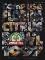 1996 Football Program - UT vs Northwestern (Citrus Bowl)