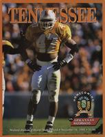 1996 Football Program - UT vs Arkansas
