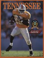 1996 Football Program - UT vs Alabama