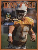 1996 Football Program - UT vs Florida