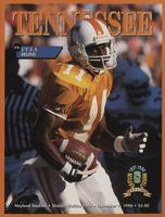 1996 Football Program - UT vs UCLA