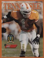1996 Football Program - UT vs UNLV