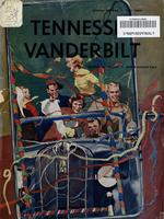 1953 Football Program - UT vs Vanderbilt